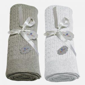 Babyfilt Björnen combo (2st) – Cotton Cashmere – Fri frakt